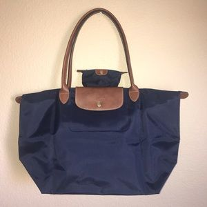 Longchamp Le Pilage Large Tote-matching coin purse